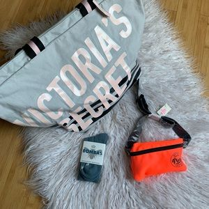 NWT VS/PINK/BOMBAS Travel Lot of 3 WEEKENDER/FANNY